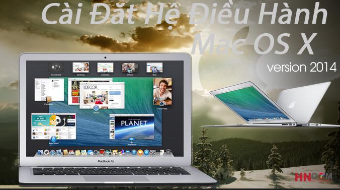 Tiến Hành Cài Đặt Mac OS X Cho MacBook