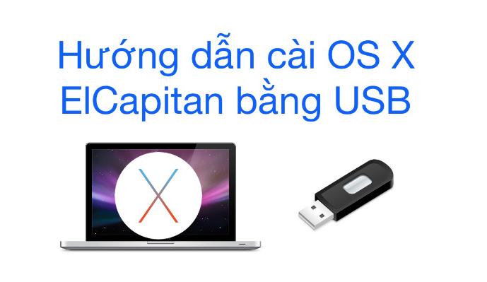 Tạo USB Cài Đặt Macos Cho Macbook