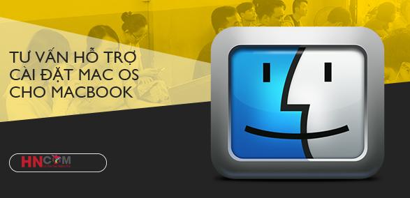 Hướng dẫn tự cài mac os cho MacBook