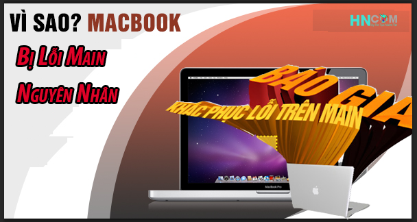 Macbook bị hư main