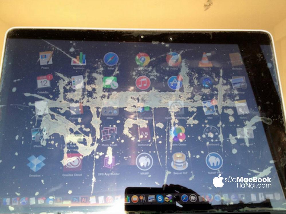 màn hình macbook bị bong lớp chống lóa