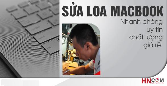 sửa loa macbook pro tại Hà Nội