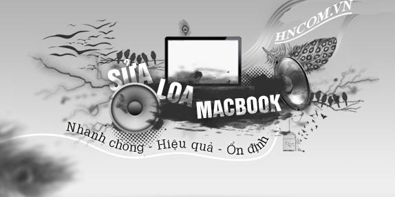 Sửa loa macbook tại Hồ Chí Minh