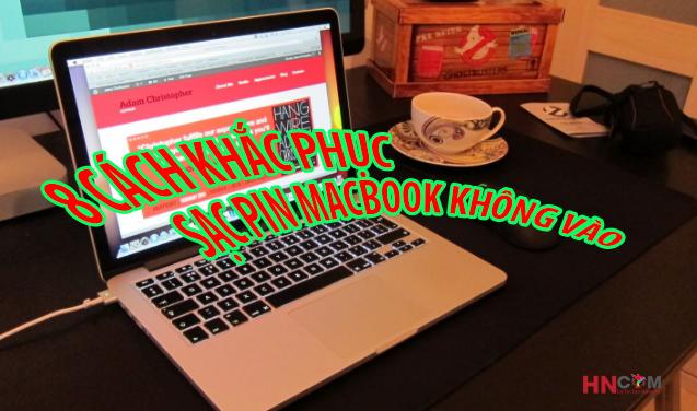 sửa macbook của bạn không sạc pin