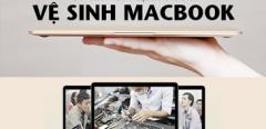 Vệ sinh Macbook tại HNcom và hô biến Macbook bị trầy xước như mới