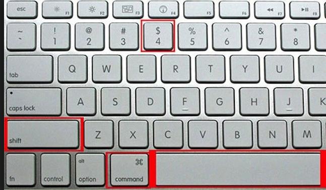 Cách chụp màn hình macbook