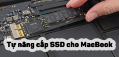Hướng dẫn cách nâng cấp ổ cứng cho Macbook Pro đơn giản tại nhà