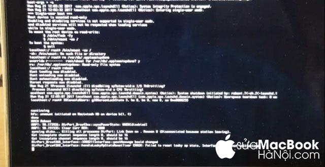 Cách thứ 2 khắc phục macbook bị khóa icloud