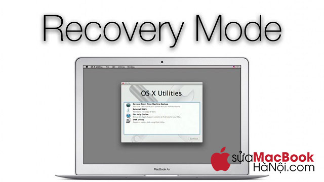 Cài đặt chế độ Recovery mode