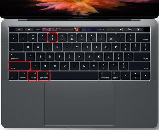 Chụp màn hình macbook trên cửa sổ hiện hành