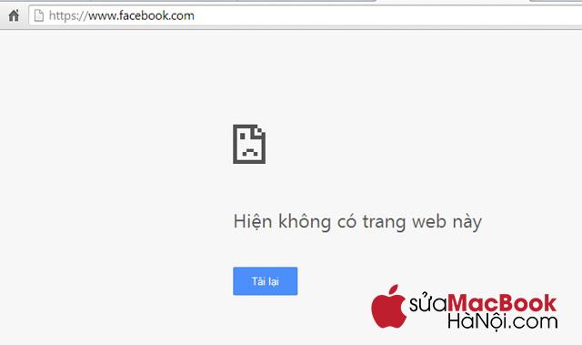 Khắc phục tình trạng MacBook không vào được Facebook với những cách đơn giản.