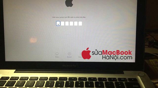 Nguyên nhân khiến macbook bị dính iCloud