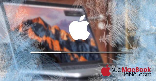 Xác định cụ thể liệu macbook có đang trong tình trạng bị treo hay không.