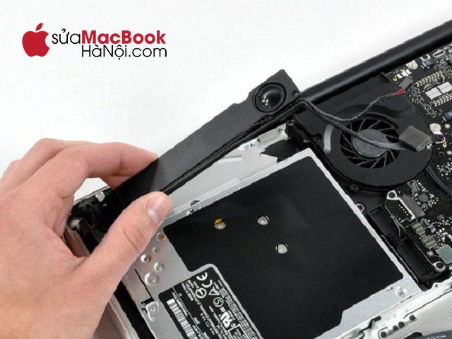 Loa macbook gặp vấn đề